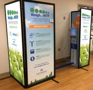 Weigh and Win Community Kiosk